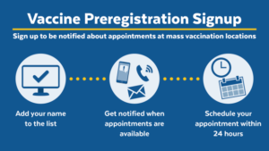 Vaccine Preregistration Signup